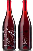 Christmas Wine Design