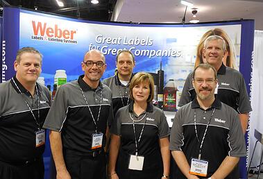 Weber's WestPack 2013 Booth Staff