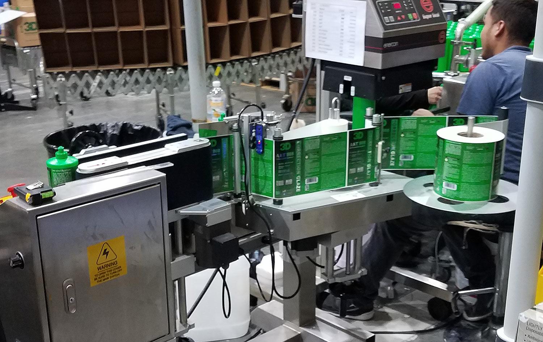 3D International labeling system