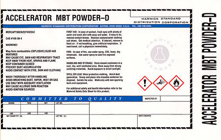 Accelerator-chemical-label