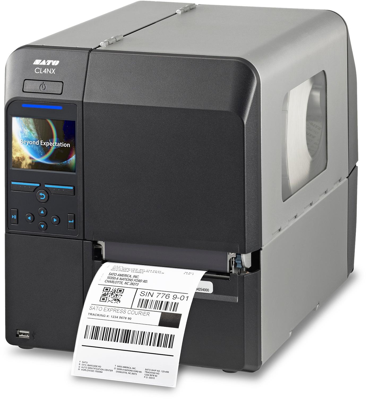 Sato CL4NX thermal-transfer label printer