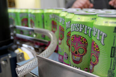 Misfit IPA Cans