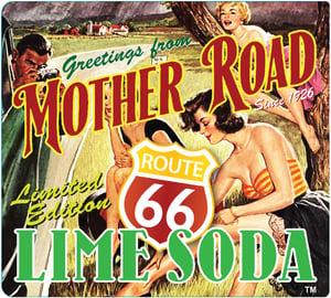 Route 66 Soda Label