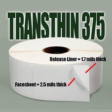 Transthin 375 labels with text (002)