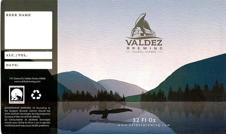 Valdez Brewing - Growler-small
