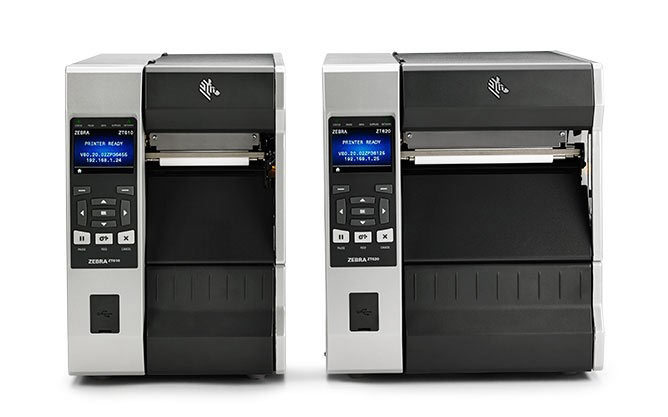 Zebra ZT600 Series printers